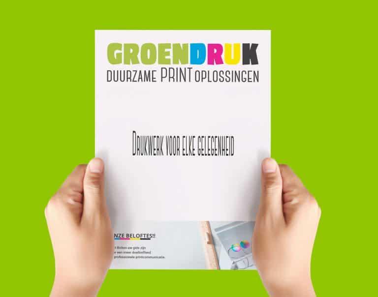 GroenDruk - drukwerk flyers Aalst