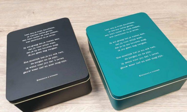 GroenDruk - bedrukken metalen dozen