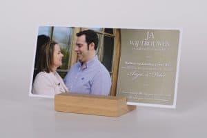 Huwelijksdrukwerk GroenDruk drukkerij Aalst