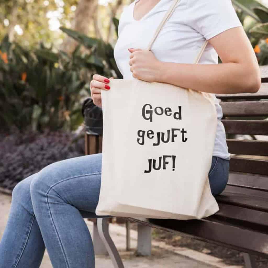 7 geschenken met een unieke bedrukking voor juf of meester
