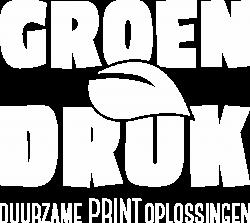 GROENDruk Logo wit
